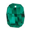 Swarovski Pendant 6685 Graphic 28mm Emerald